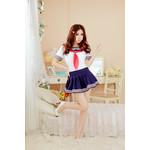 Japanese High-School 'Sailor' Uniform-Style Cosplay Costume