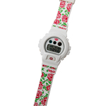 Casio G-SHOCK DW-6900 PEGLEG NYC Rose Floral