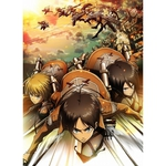 Attack on Titan Vol.1 Blu-ray (w/unpublished comic Vol. 0) Japan Import