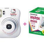 Fuji Fujifilm Instax Mini 25 Polaroid Camera Hello Kitty model Whit (w/ 50 Film)
