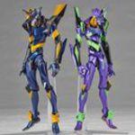 Kaiyodo Revoltech NO.EX Evangelion EVA-01 and Mark.06 Special Edition Action Figure