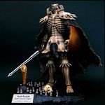 Berserk Skull Knight Birth Ceremony Chapter 1/10 Polystone Statue Bleached bone Colored ver. w/Swarovski Crystal Red Eye