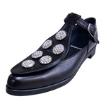 UNBILICAL No.254 / Black smooth leather