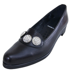 UNBILICAL No.255 / Black smooth leather