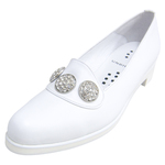 UNBILICAL No.255 / White smooth leather