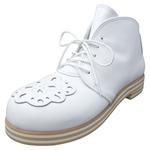 BELLY BUTTON No.222 / White appliqué Boots