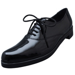 UNBILICAL No.251 / Black enameled leather
