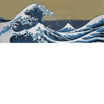 Japanese Tenugui Hand Towels [The Great Wave off the Coast of Kanagawa]