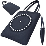 TOKYO BOPPER No.11130/Black-R hemisphere tote bag