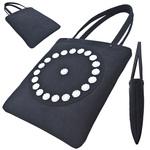TOKYO BOPPER No.11110/Black-R bijou tote bag
