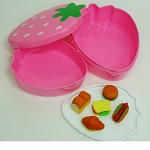 iwako Japanese Erasers, Fun picnic. Lunch box is equipped with.