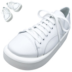 TOKYO BOPPER No.874 /  White smooth leather shoes