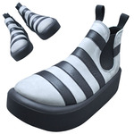 TOKYO BOPPER No.890 / Black & Gray shoes