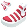 TOKYO BOPPER No.890 / White & Red shoes