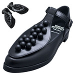 TOKYO BOPPER No.957 / Black & Black-ball shoes