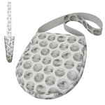 TOKYO BOPPER No.11180/White BELLY BUTTON shoulder bag