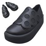 TOKYO BOPPER No.876 /  Black smooth dot shoes