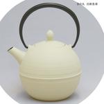 Nambu Ironware (teapot) the rising‐sun white