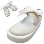 TOKYO BOPPER No.877 /  Ivory smooth ribbon shoes