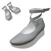 TOKYO BOPPER No.501 / Gray Ballerina shoes