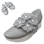 TOKYO BOPPER No.503 / Gray Flowers shoes