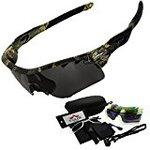 [TAILOR JAPAN: camouflage sport sunglasses shooting glasses tactical goggle sunglasses sabage bike polarized lenses 5 replacement lens road bike uv400 UV cut men's women's