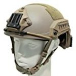 FMA Ops-Core type FAST maritime helmet complete set urban TAN (l/XL (57-61 cm))