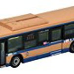 National bus JB041-2 Yokohama City Transportation Bureau Hino Blue Ribbon bus diorama products (manufacturers limited edition)