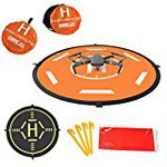 Landing pad rapid folding drone car part sides amphibious landing mats waterproof processing heliport storage bag for DJI Mavic pro Mavic Air Platinum Spark Phantom 2 Phantom 3 Pha ntom 4 Phantom 4 Pro bebop2 Phantom 4 Advanced for 80 cm diameter