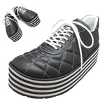 TOKYO BOPPER No.331 / Black-smooth leather - Black&white sole