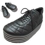 TOKYO BOPPER No.331 / Black-smooth leather - Black&gray sole
