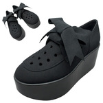 TOKYO BOPPER No.123 / Black-R ribbon shoes
